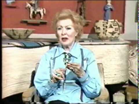 Vintage Greer Garson Interview Circa 1985 TVO PART 2.