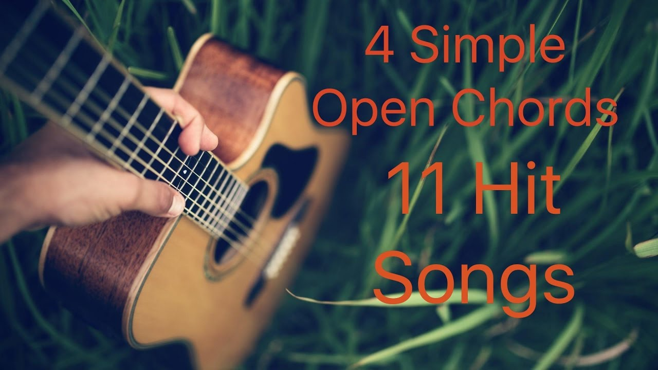 4 Simple Open Chords 11 Hit Songs Bollywood Mashup Easy Guitar