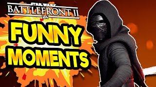 Star Wars Battlefront 2 Funny & Random Moments [FUNTAGE] #37