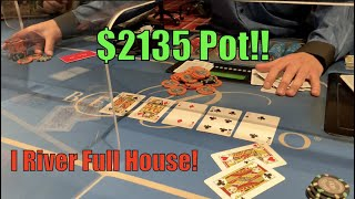 I Call Opponent's Jam And Make Full House On The River!! Poker Vlog EP 142