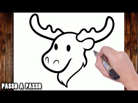 Como Desenhar Um Alce Youtube