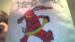 LEGO Ninjago Kai Drawing