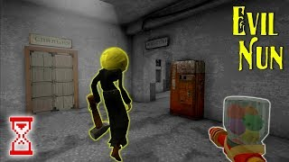 Баги: Бессмертие в огне, сломанный лифт и Монашка-жвачка | Evil Nun 1.5.2
