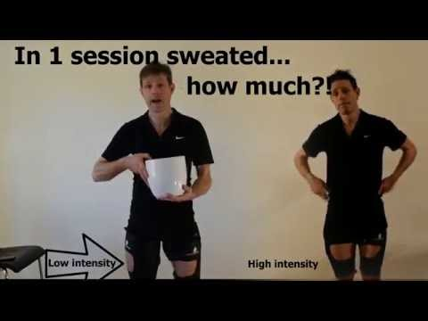 Bucketing sweat - is it really possible without doing anything?
