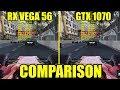 F1 2017 AMD RX VEGA 56 & GTX 1070 | 1080p - 1440p & 2160p | FRAME-RATE TEST COMPARISON