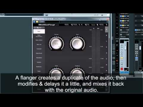 Modulation audio effects comparison on an electric piano sound
