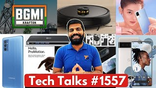 Download Tech Talks #1557 - New BGMI, iPhone 13 Pro Battery, M52 5G Launched, Google Photos Lock, Pixel 6
