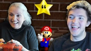 Speedrunner tries teaching mom how to speedrun...