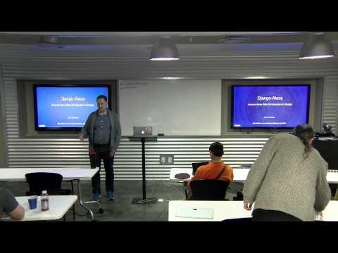 Austin Web Python Meetup - Amazon Echo & Django
