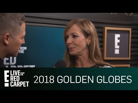 Allison Jenny Reacts to Winning 1st Golden Globe Award | E! Live from the Red Carpet