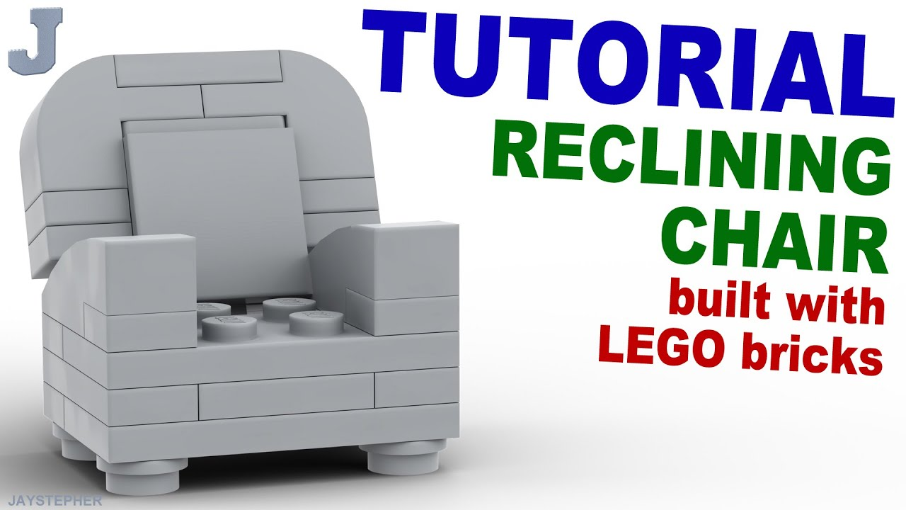 Tutorial Lego Reclining Chair Cc Youtube
