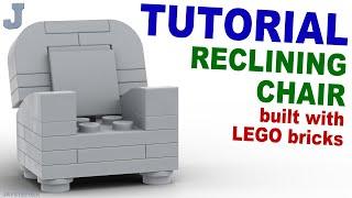 Tutorial - Lego Reclining Chair [cc]