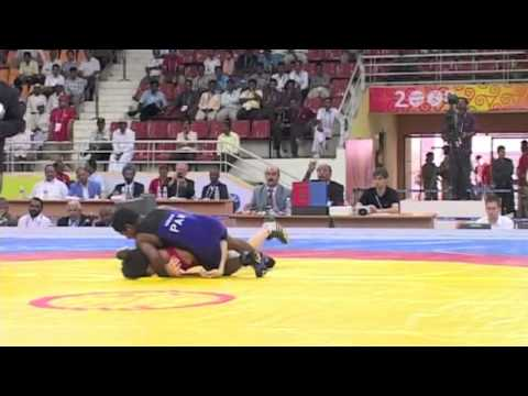 2008 Commonwealth Youth Games: 46 kg James Luu (CAN) vs. Ali Haider (PAK)