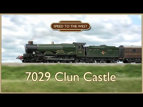 7029 Clun Castle: 10 Minutes Of Great Western Glory - 2019