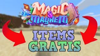 MINECRAFT CUBECRAFT MAGIC AND MAYHEM COMO CONSEGUIR OBJETOS GRATUITOS _  CAJAS Y CELEBRACION