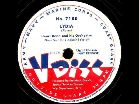 V-Disc 718  Henri Rene, Vladimir Sokoloff