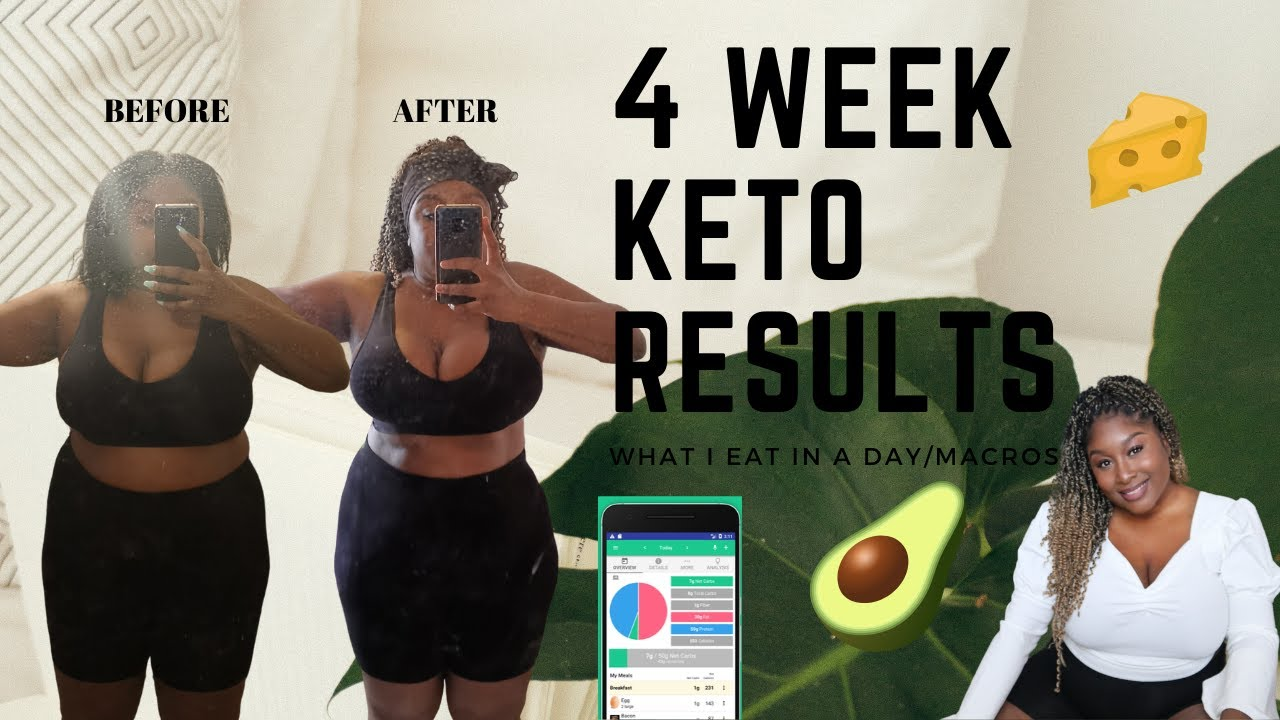 Keto Diet Weight Loss Results - 1 month - What I Eat In A ...