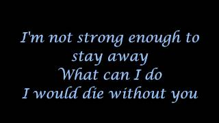 Apocalyptica Feat Brent Smith Not Strong Enough Lyrics