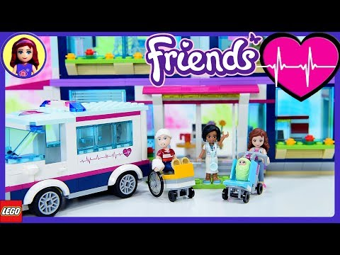 Lego Friends Heartlake Hospital Part 1 Build Review Silly Pl