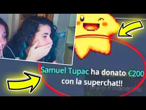 MI HANNO DONATO 500 EURO IN LIVE?!?! VIDEO REAZIONE!!