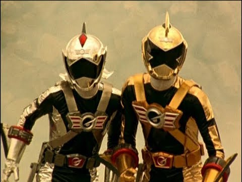 Power Rangers RPM - Three's a Crowd - Gold and Silver Ranger's Fight (Episode 19)