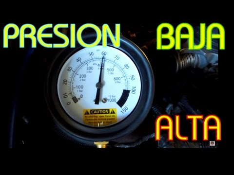 Causas Que Ocacionan Presion Baja Y Alta En El Sistema De Combustible