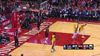 4th Quarter, One Box Video: Houston Rockets vs. Los Angeles Lakers