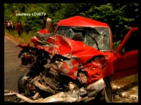 Traffic accidents reported on major highways in Belize