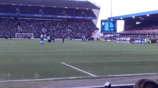 Birmingham City V West Bromwich Albion - Entering The Pitch & Keep Right On