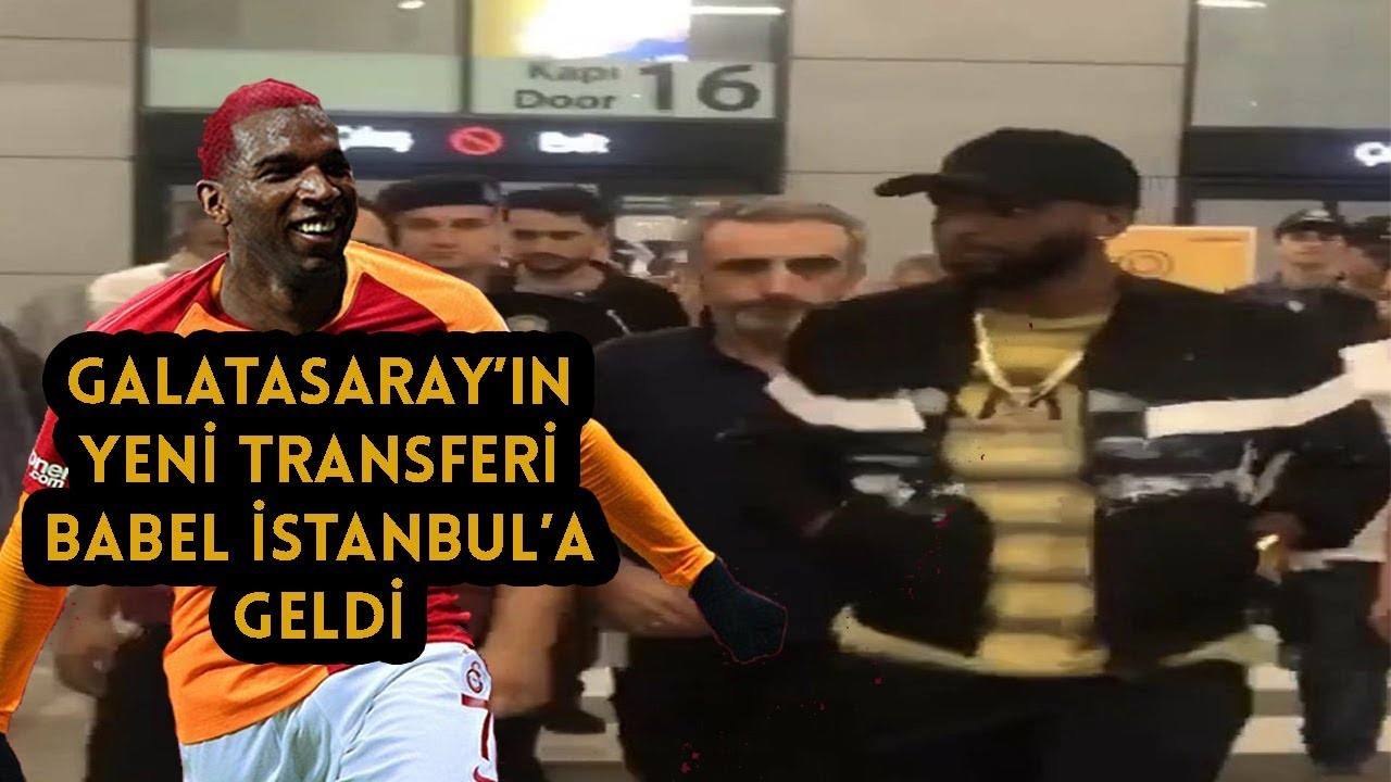 Ryan Babel Galatasaray için İstanbul 'a Geldi !