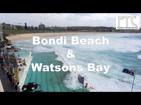Bondi Beach & Watsons Bay, Sydney Australia In 4K By Mavic Air
