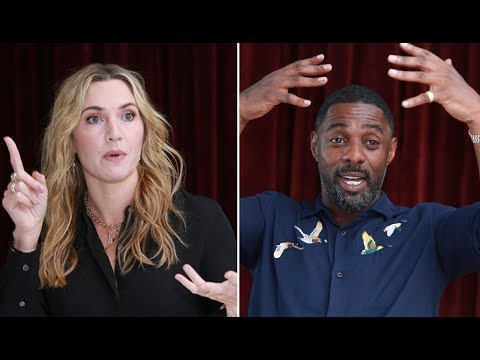 "Idris Elba and Kate Winslet on ""The Mountain Between Us"""
