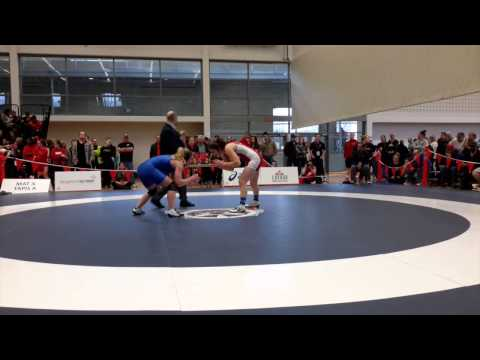 2015 Senior National Championships: 69 kg Leah Ferguson vs. Bailey Halvorson