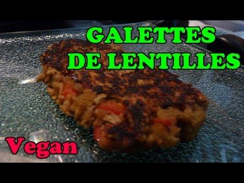 recette-végétalienne-:-galettes-de-lentilles-aux-poivrons