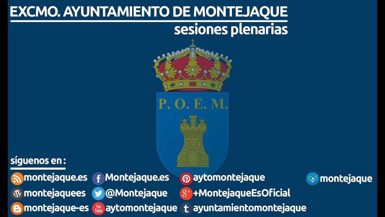 Pleno de investidura Montejaque