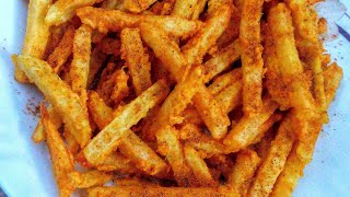 How to make McDonalds french fries at home, hygenic crispy fries