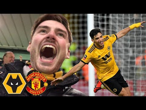 JIMENEZ SENDS WOLVES TO WEMBLEY! Wolves Vs Man Utd FA Cup 2-1 Matchday Vlog