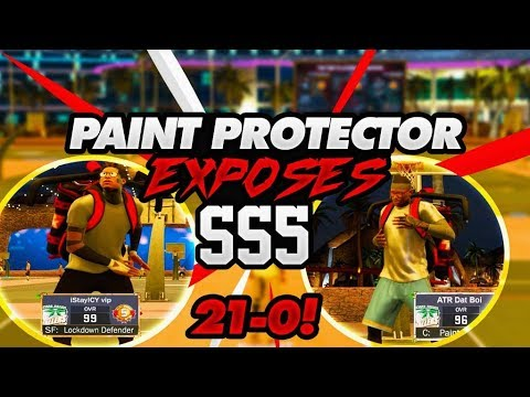 PAINT PROTECTOR EXPOSES ALMOST LEGEND 21-0