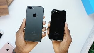 iPhone 7 Unboxing: Jet Black vs Matte Black!