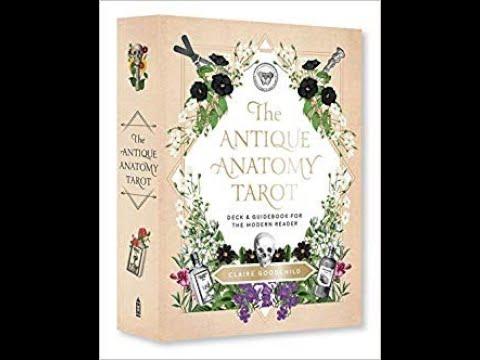 Antique Anatomy Tarot Kit Review from Amazon - YouTube