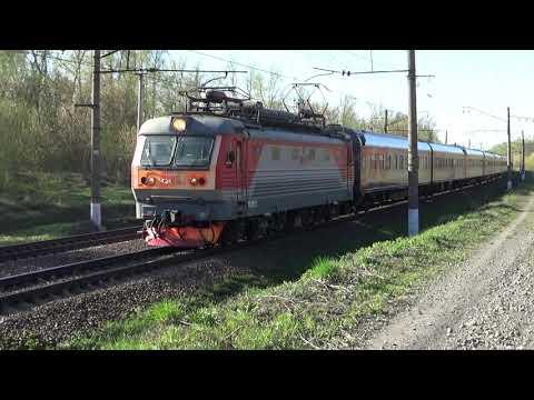 Электровоз ЧС2К-851 с поездом №120М Москва-Саранск