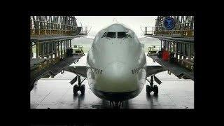 Гигантские машины Boeing 747-400 D-check / Документальный Техно24