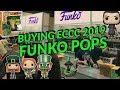 Buying ECCC 2019 Funko Pops