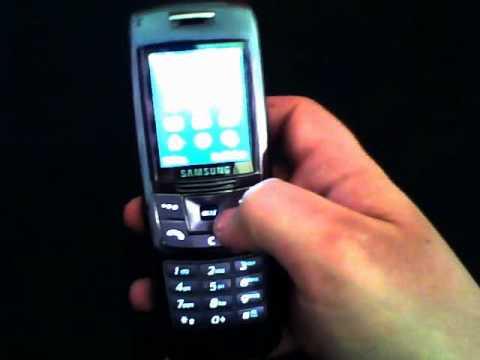 TELEFONINOOK - VIDEOPROVA SAMSUNG SGH-E250