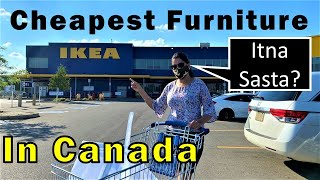Buying Furniture For Our New House | Canada Couple Vlogs