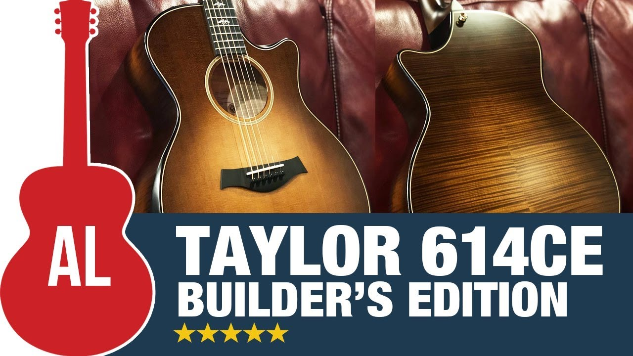 taylor 614ce builder 39 s edition v class review youtube. Black Bedroom Furniture Sets. Home Design Ideas