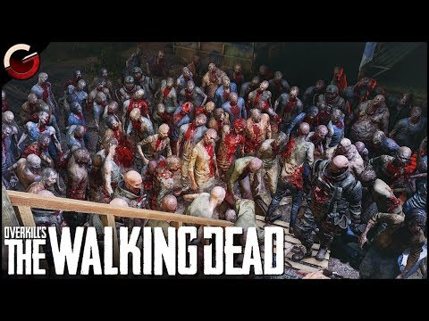 OMG! I FOUND A HUGE ZOMBIE HORDE | OVERKILL's The Walking Dead Gameplay thumbnail