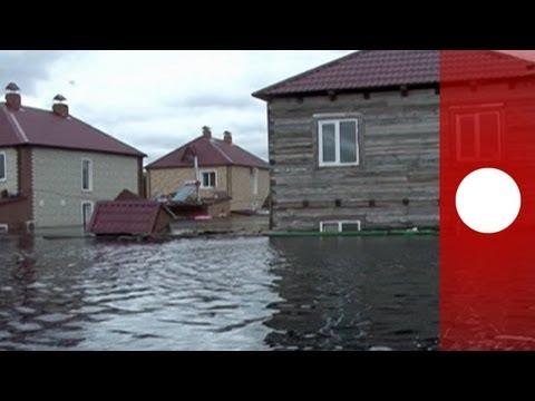 Severe rain floods Russia's Far East region