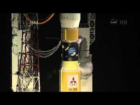 JAXA H-IIB Transfer Vehicle HTV 4 Complete Launch Coverage