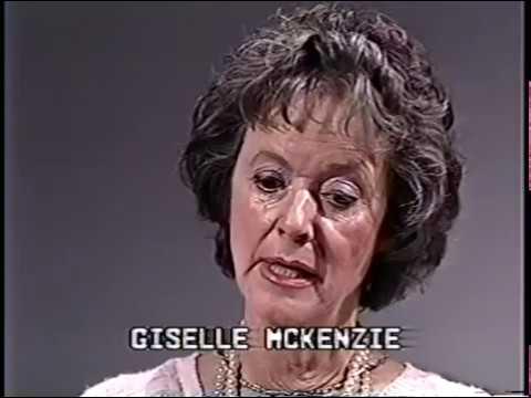 Gisele MacKenzie, Dick Dale--Rare 1986 TV Interview